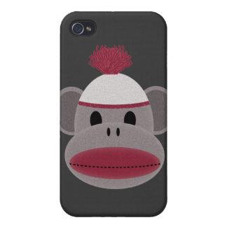Sock Monkey iPhone 4/4S Covers