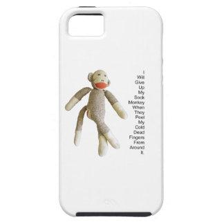 Sock Monkey iPhone SE/5/5s Case