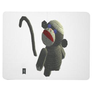 Sock monkey journal