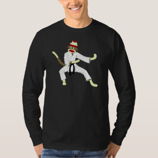 Sock Monkey Karate T-Shirt