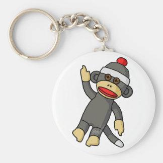 Sock Monkey Key Chains