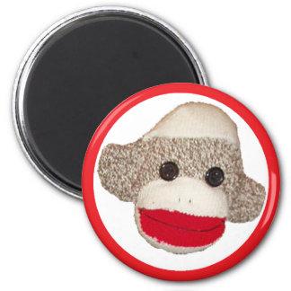 Sock monkey magnets