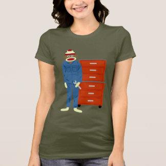 Sock Monkey Mechanic T-Shirt