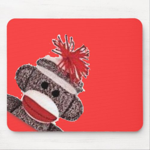 Sock Monkey merchandise products gifts Mouse Pad