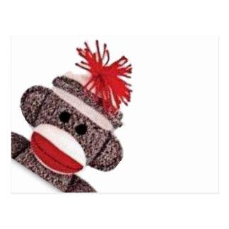 Sock Monkey merchandise products gifts Postcard