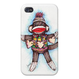 Sock Monkey - Monkey Business Case For iPhone 4