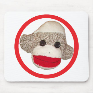 Sock monkey mouse pads