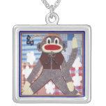 Sock Monkey Jewelry