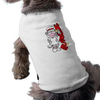 Sock Monkey Nurse T-shirts and Gifts Doggie Tee