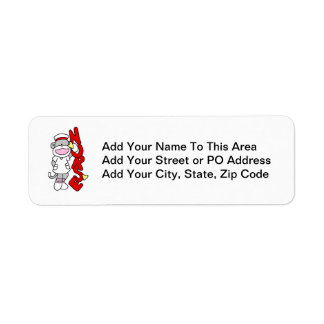 Sock Monkey Nurse T-shirts and Gifts Label