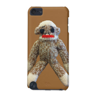 Sock Monkey on Brown iPod Case