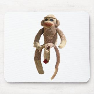 Sock Monkey Pad Mousepads