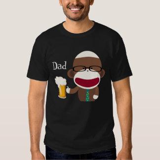 Sock Monkey Papa Shirt