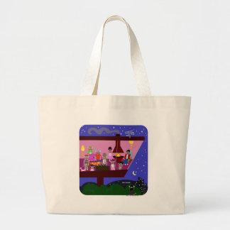 Sock Monkey Party Tote Bag