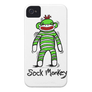Sock Monkey Phone Case Case-Mate iPhone 4 Cases