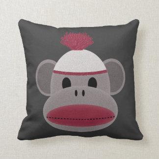 Sock Monkey Throw Pillows