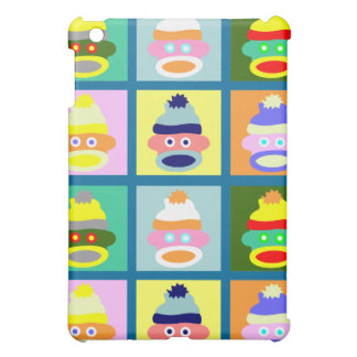 Sock Monkey Pop Art iPad Mini Case
