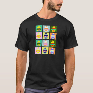 Sock Monkey Pop Art T-Shirt
