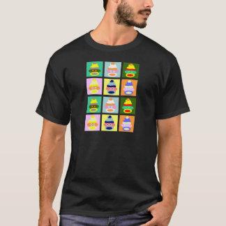 Sock Monkey Pop Art T-Shirt