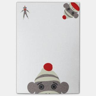 Sock Monkey Post-it® Notes