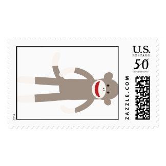 Sock Monkey Postage