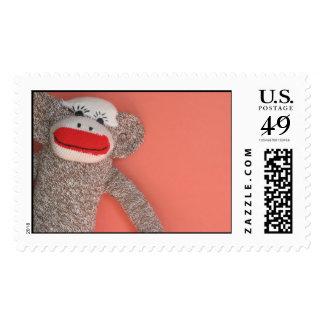 Sock Monkey Stamps