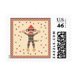 Sock Monkey Postage