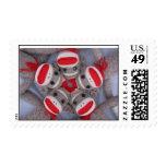 Sock Monkey Postage Stamp