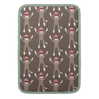 Sock Monkey Print MacBook Sleeve