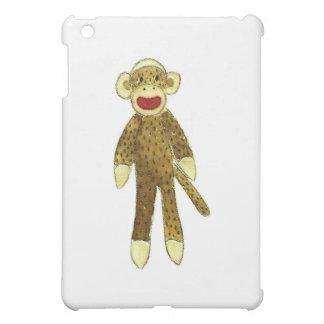 sock monkey red lips iPad mini cover