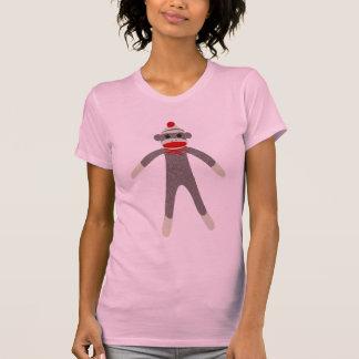 Sock Monkey Reversible Sheer Top T Shirts