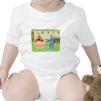 Sock Monkey Robot Waiter Tshirts