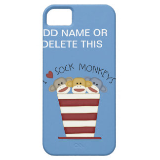 SOCK MONKEY S Barely There iPhone 5 CASE