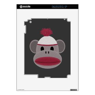 Sock Monkey Decals For iPad 2