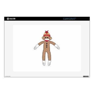 Sock Monkey Laptop Skin