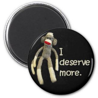 Sock Monkey Slurs Fridge Magnets