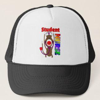 Sock Monkey Student Nurse Trucker Hat