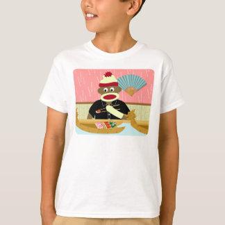 Sock Monkey Sushi T-Shirt
