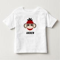 Sock Monkey Toddler Shirt