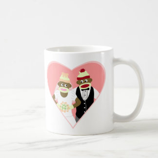 Sock Monkey Wedding Coffee Mug