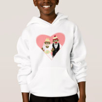 Sock Monkey Wedding Hoodie