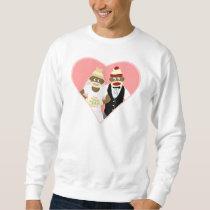 Sock Monkey Wedding Sweatshirt