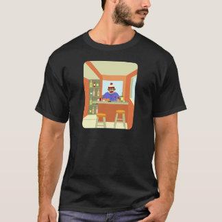 Sock Monkey Wine Taster T-Shirt