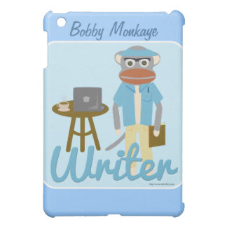 Sock Monkey Writer Deluxe iPad Mini Case