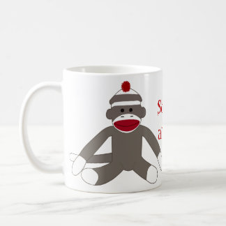 Sock Monkeying Around Coffee Mug