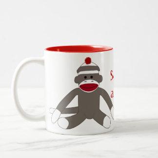 Sock Monkeying Around Mug