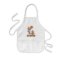 Sock Monkeys Big Brother Apron