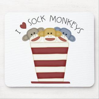 Sock Monkeys Mouse Pad
