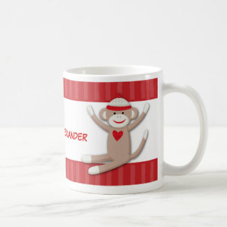 Sock Monkeys Personalized Coffee Mug