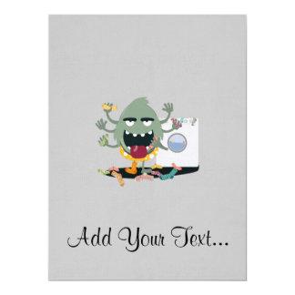 Sock Monster Card